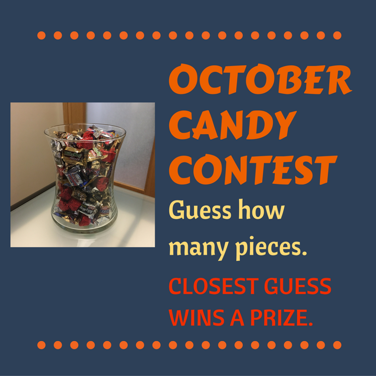 October Candy Contest | Denver Highland Denver